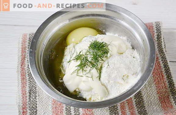 gâteaux à base de fromage fondu. Avez-vous essayé ces?