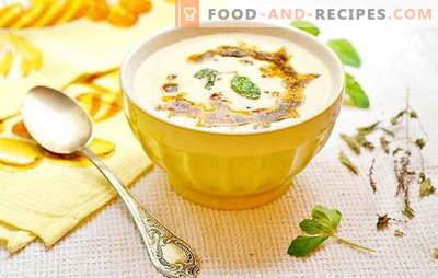Sopa turca inusual: en yogur, leche, caldo de carne. Recetas de sopa gourmet turca con carne, cereales, verduras