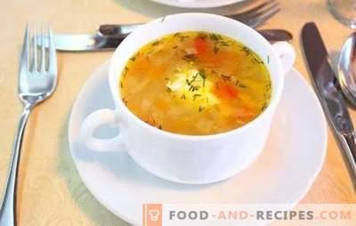 La soupe au chou frais dans une mijoteuse est une soupe moderne. Recettes soupe au chou de chou frais dans une mijoteuse: avec champignons, haricots, olives