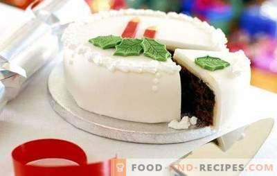 Glaçage blanc - une décoration élégante pour la cuisson. Cuisinez à la maison et décorez avec du glaçage blanc n'importe quelle pâte