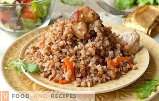 Le sarrasin chez un marchand de porc est un deuxième plat instantané. Top 6 des meilleures recettes de sarrasin pour les marchands avec du porc