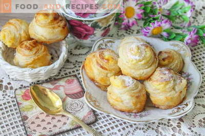 French custard buns - treat yourself to the culinary charm of France