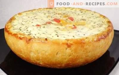 Tarte aux pommes de terre dans une mijoteuse - champignons, légumes, viande, poulet, fromage, maigre. Les meilleures recettes de tarte aux pommes de terre dans une mijoteuse