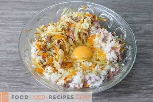 Rouleaux de chou paresseux - idéal pour le petit déjeuner, le déjeuner ou le dîner!