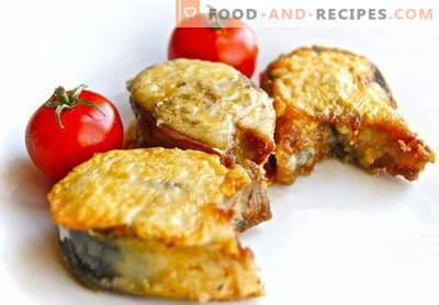 Maquereau frit - les meilleures recettes. Comment bien cuire le rôti de maquereau