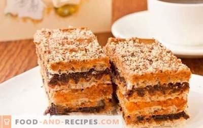 Gâteaux à partir de gâteaux tout préparés au lait concentré - Des invités surprises!