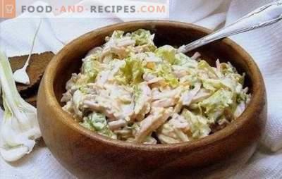 Salade à l'ail: Pour les végétariens et les mangeurs de viande. Une sélection de recettes pour les plus délicieuses salades à l'ail