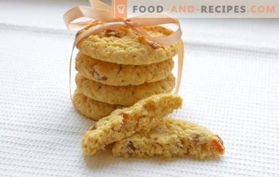 Biscuits à l'avoine moelleux - recettes et astuces. Comment faire des biscuits à l'avoine avec du miel, des noix, de l'orange, des pommes, du fromage cottage