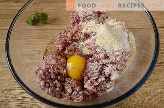 Boulettes de viande dans une casserole: boulettes de viande pour pâtes, porridge, légumes et purée de pommes de terre. Photo-recette pas à pas de la cuisson de boulettes de viande dans une casserole pendant une demi-heure