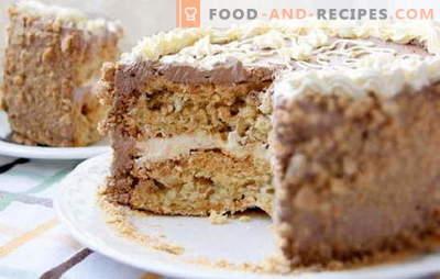 Gâteau de Kiev à la maison - luxe autorisé! Recettes simplifiées de différents gâteaux de Kiev faits maison