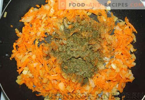 Salade au chou - une recette avec des photos et une description étape par étape