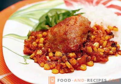 Poulet mexicain - les meilleures recettes. Comment faire cuire correctement et délicieusement le poulet mexicain.