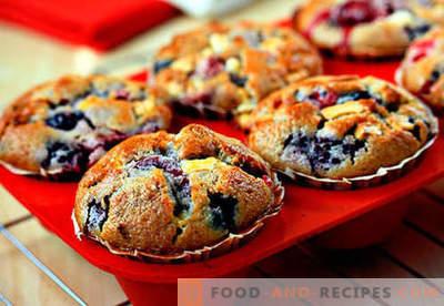 Les muffins aux gâteaux au silicone sont les meilleures recettes. Comment cuire rapidement et savourer des muffins dans des moules en silicone.