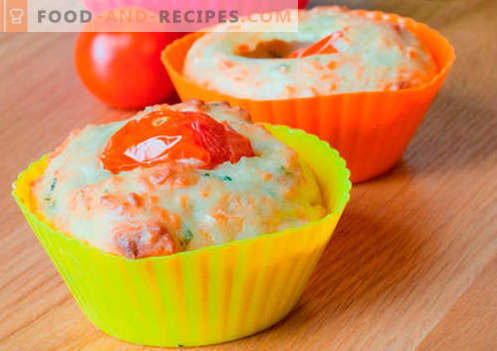 Silicone cake muffins are the best recipes. How to quickly and tasty cook muffins in silicone molds.