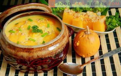 Surprenez tout le monde avec une soupe au potiron maison: rapide, savoureuse! Recettes européennes de soupes à la citrouille, rapides et savoureuses, saines et nourrissantes