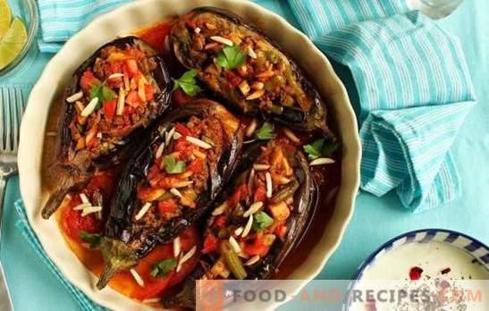 Aubergine à la turque avec viande hachée - l'un des favoris de la cuisine turque! Recettes, subtilités et secrets de cuisson des aubergines turques juteuses et incroyablement délicieuses avec de la viande hachée