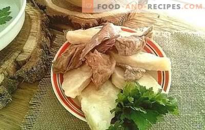 Avar Khinkali - savoureux, simple, original! Comment faire cuire savoureux Avar khinkali, des options pour les sauces pour eux