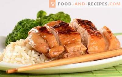 Chicken fillet in soy sauce is the perfect marinade for poultry meat. Variants of chicken fillet in soy sauce in a pan, frying pan and oven