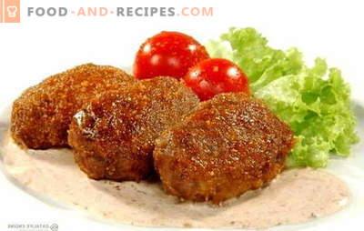 Une recette simple pour de délicieuses côtelettes: un plat principal polyvalent dans la cuisine du monde. Top recettes les plus populaires pour les côtelettes savoureuses simples