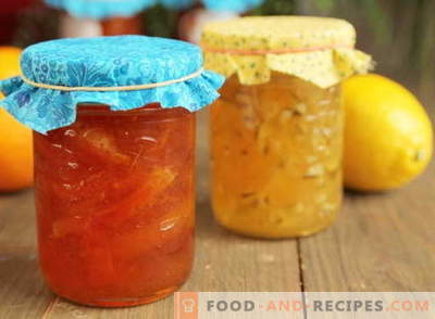 Confiture de citron: comment préparer correctement la confiture de citron