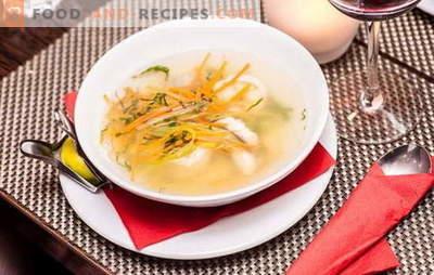 Soupes diététiques - 10 meilleures recettes pour des plats sains. Les secrets de la nourriture simple et délicieuse: les soupes diététiques