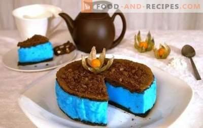 Gâteau diététique - une délicatesse sans danger pour la figure. Les meilleures recettes de gâteaux diététiques: gelée, gâteau sans farine, Napoléon