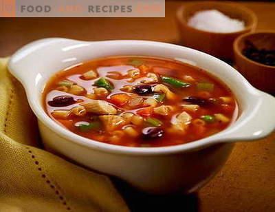 Soupe Solyanka - les meilleures recettes. Comment bien et savoureux soupe soupe.
