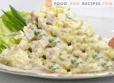 Laitue Iceberg - les meilleures recettes. Comment bien et savoureux faire cuire la salade Iceberg.