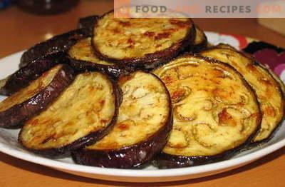 Aubergine à l'ail - les meilleures recettes. Comment bien et savoureux cuire les aubergines à l'ail.