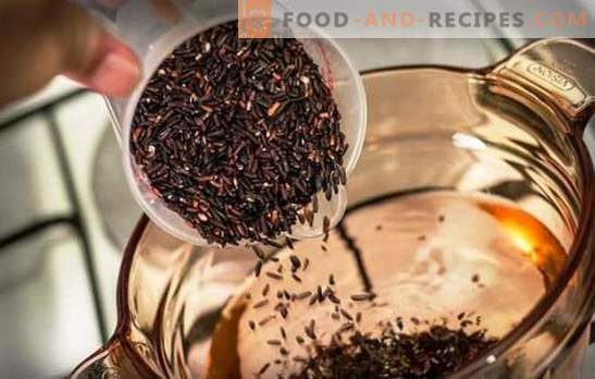 Comment faire cuire du riz brun - des questions de nutrition saine. Combien cuire le riz brun: conseils culinaires sur la cuisson du riz non poli