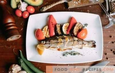 La truite grillée est un poisson extraordinaire! Les meilleures marinades au citron, au vin, à la sauce soja, au fenouil et à l'orange pour la truite grillée