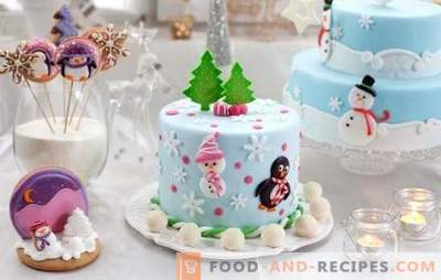 Vous ne pouvez pas vous passer d'un gâteau fait maison pour le Nouvel An! Une sélection de gâteaux faits maison rares et populaires pour le Nouvel An: savoureux et facile
