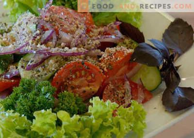Salade géorgienne - les meilleures recettes. Comment bien et savoureux salade géorgienne cuite.