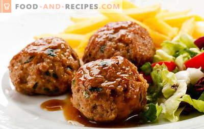 Côtelettes au four avec sauce - Tuez deux oiseaux avec une pierre! Différentes recettes et méthodes de cuisson des escalopes au four avec de la sauce