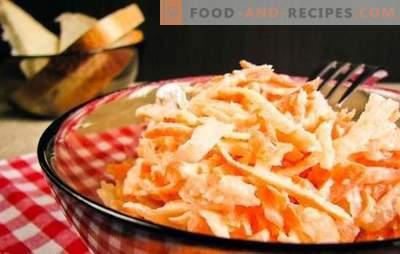 Carottes cuites dans de la crème sure et des plats avec. Diversifiez votre alimentation avec différents plats délicieux à base de carottes cuites à la crème sure