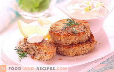 Côtelettes de poisson rouge - une friandise festive et un dîner sain. Diverses recettes de côtelettes de poisson rouge pour toutes les occasions