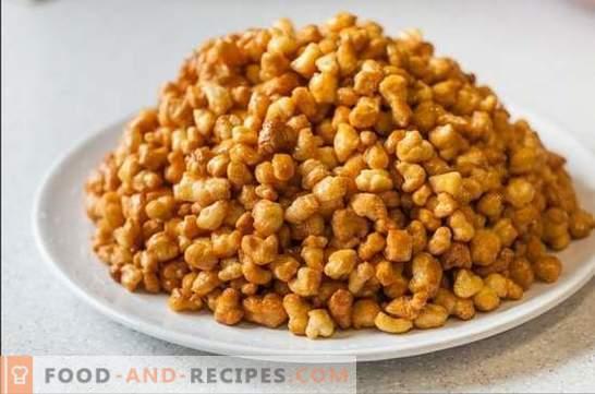 Honey Chak-Chak - Recettes pas à pas avec photos et tous les détails. Cuisine délicieuse et parfumée chak-chak tatare comme sur la photo