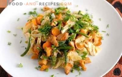 Chanterelles dans une mijoteuse - délicieux plats aux champignons. Recettes de girolles dans une mijoteuse: compote, frites et avec d'autres ingrédients