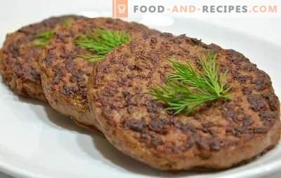 Côtelettes de foie de boeuf - masquant un sous-produit utile! Côtelettes de foie de boeuf: recettes traditionnelles et originales