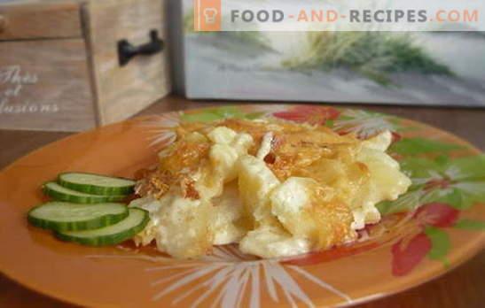 Très satisfaisant et rapide - pommes de terre à la crème sure dans une mijoteuse. Légumes, viande, champignons dans de simples recettes de pommes de terre à la crème sure dans une mijoteuse