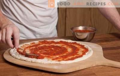 La sauce tomate pour pizza est la base de la tarte italienne! Recettes de sauces tomates pour pizza à partir de tomates, pâtes, ail, olives