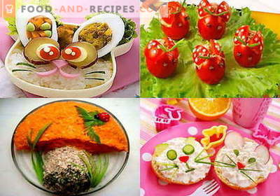 Salades pour enfants - les meilleures recettes. Comment bien et savoureux préparer une salade pour enfants.