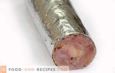 Comment faire des saucisses faites maison sans entrailles - recettes et secrets. Comment faire cuire des saucisses faites maison sans les viscères de la viande et des abats