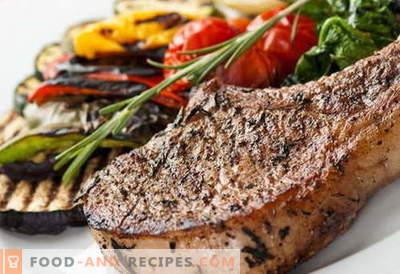 Plats d'accompagnement pour la viande - les meilleures recettes. Comment bien et savoureux faire cuire un plat d'accompagnement pour la viande.