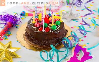 Nous préparons le gâteau à la maison pour notre anniversaire (photo)! Recettes pour divers gâteaux d'anniversaire faits maison avec des photos