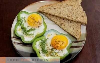 Œufs sur le plat dans la mijoteuse - facile! Recettes d'oeufs brouillés dans une mijoteuse; œufs brouillés, œufs au plat, avec tomates, fromage, saucisses cuites à la vapeur