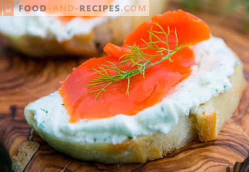 Les sandwichs au poisson sont les meilleures recettes. Comment cuire rapidement et savourer des sandwichs avec du poisson.
