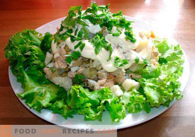 """""""Moscow"""" salad - the best recipes. How to properly and tasty cook salad"""