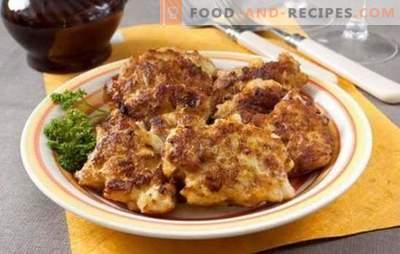 Porc albanais - savoureux, économique, beaucoup! Les meilleures recettes de porc albanais avec des champignons, des oignons, du fromage, des légumes