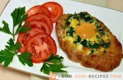 Schnitzel de porc au four - un plat digne des rois. Une sélection des meilleures recettes pour les escalopes de porc au four